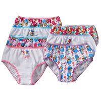 Girls 4-8 Shimmer & Shine 7-pk. Bikini Panties
