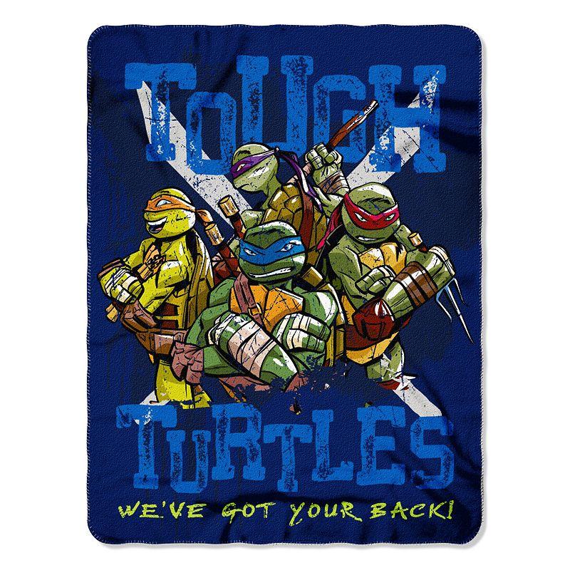 Teenage Mutant Ninja Turtles Tough Turtles Blues Fleece Throw