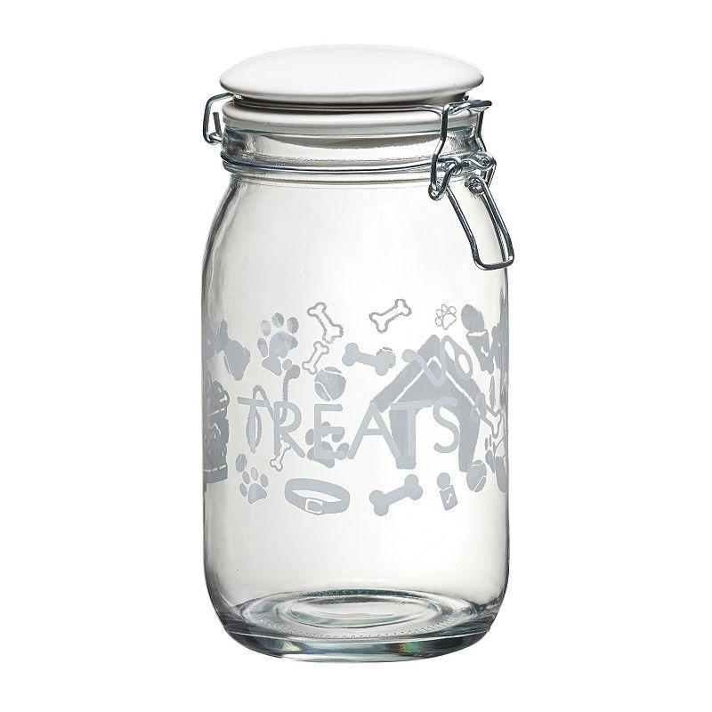 Global Amici Pet Lifestyle 6-pc. Hermetic Glass Storage Jar Set