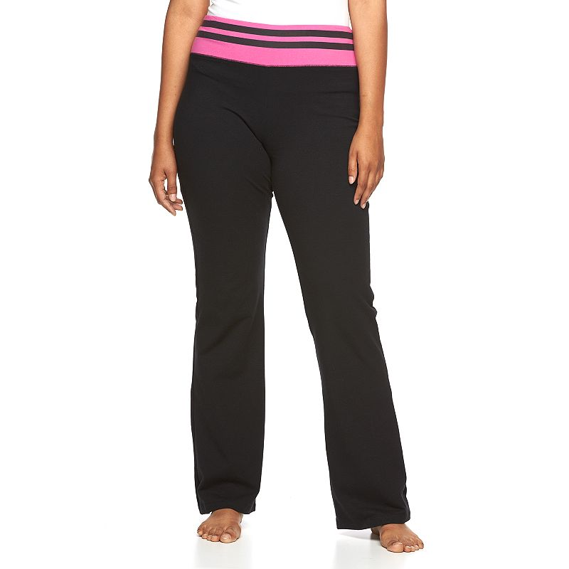 Juniors' Plus Size SO® Lounge Contour Bootcut Yoga Pants