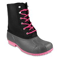 London Fog Wynter Women's Waterproof Rain Boots