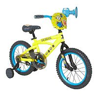 Youth Minions Bike with Training Wheels