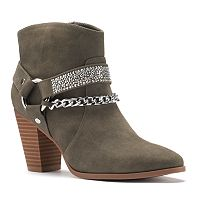 Jennifer Lopez Women's Strappy Ankle Boots