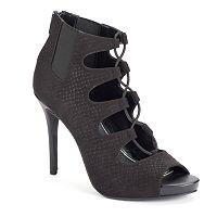 Jennifer Lopez Women's Lace-Up High Heels