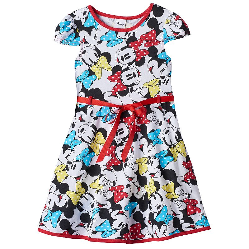 Disney's Minnie Mouse Girls 4-6x Skater Dress