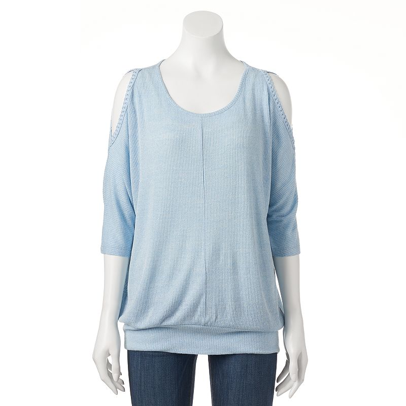 Women's French Laundry Banded Cold-Shoulder Top