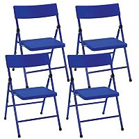 Cosco 4-pk. Pinch-Free Folding Chair