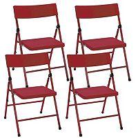 Cosco 4-pk. Pinch-Free Folding Chair