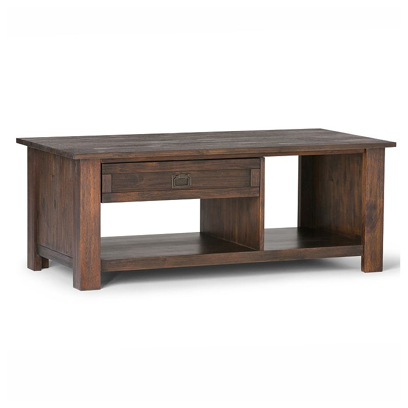 Simpli Home Monroe Rectangular Coffee Table