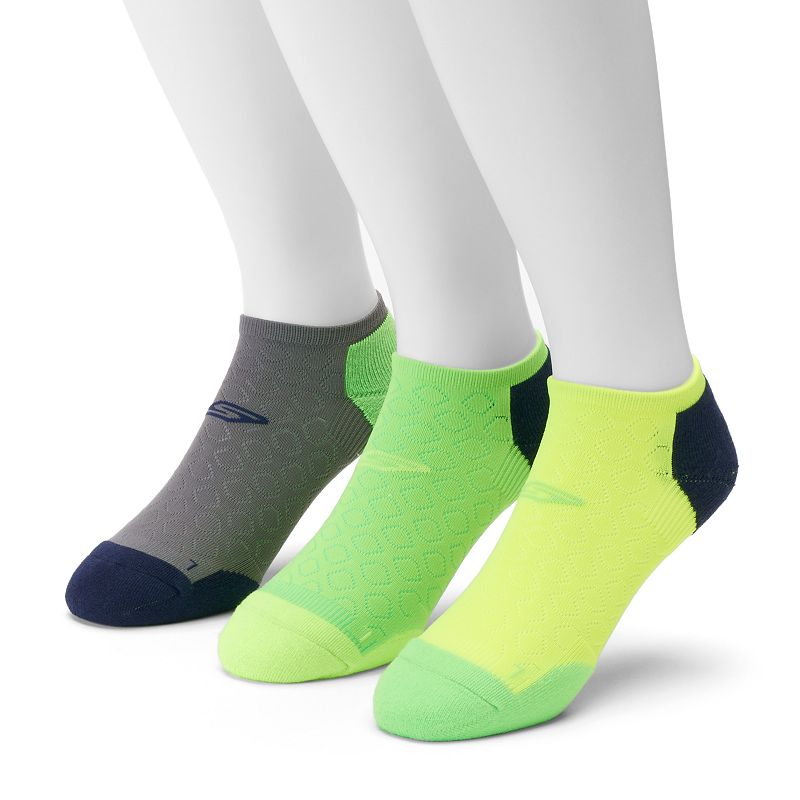 Men's Skechers 3-Pack Performance No-Show Socks