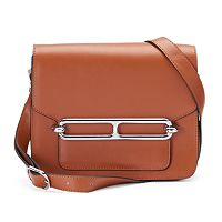 Donna Bella Harper Leather Shoulder Bag