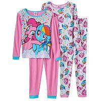 Girls 4-10 My Little Pony Pinkie Pie & Rainbow Dash Pajama Set