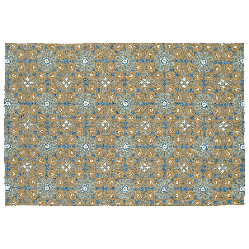 Kaleen water resistant rug kohl 39 s for Water resistant outdoor rug