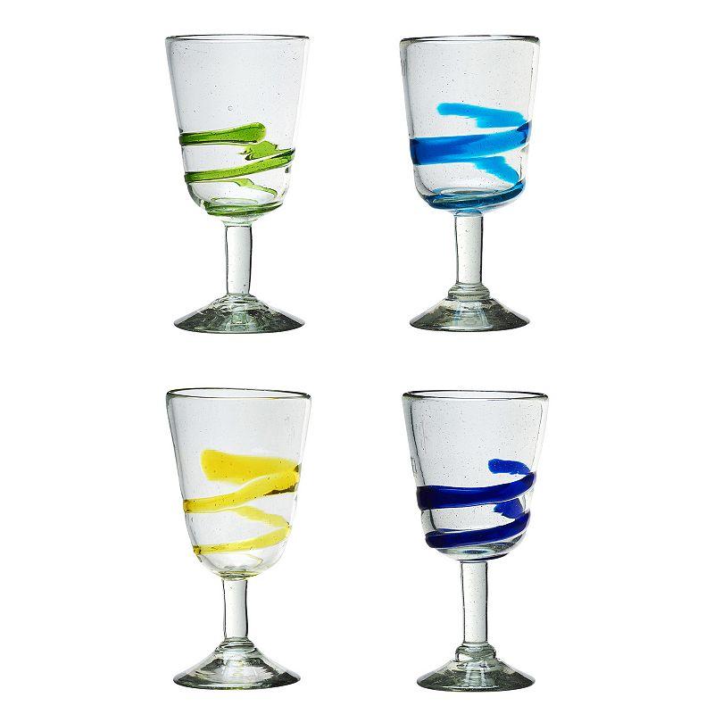 Global Amici La Jolla 4-pc. Campana Wine Glass Set