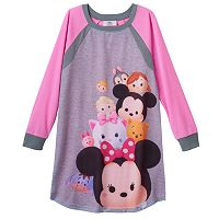 Disney's Tsum Tsum Girls 4-12 Raglan Dorm Nightgown