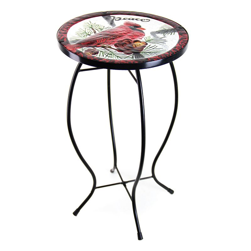 Exhart Cardinal Glass Outdoor Bistro Table