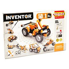 Engino Inventor 50 Models Motorized Kit by