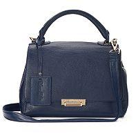 Donna Bella Jasmine Convertible Leather Satchel