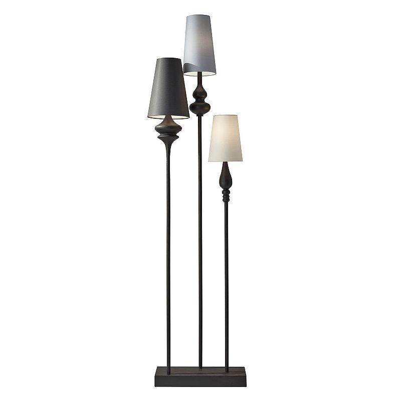Adesso Jasmine 3-Light Floor Lamp