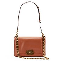 Donna Bella Brooklyn Convertible Leather Crossbody Bag