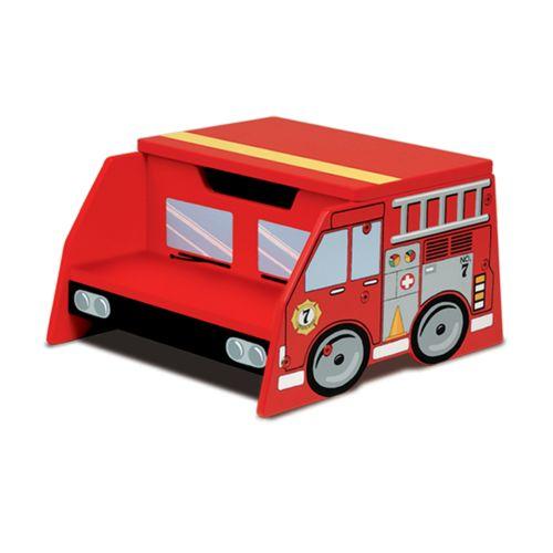 KidKraft Fire Truck Step Stool