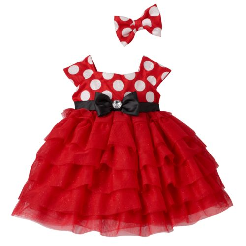 Disney's Minnie Mouse Baby Girl Dress by Nannette