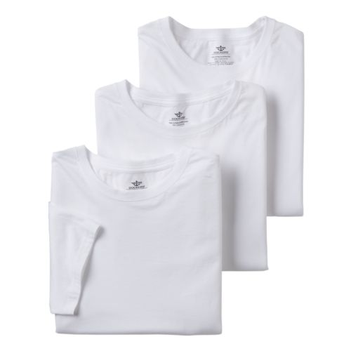 Big & Tall Dockers 3-pack Crewneck Tees
