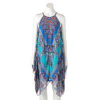 Women's MSK Scroll Halter Dress