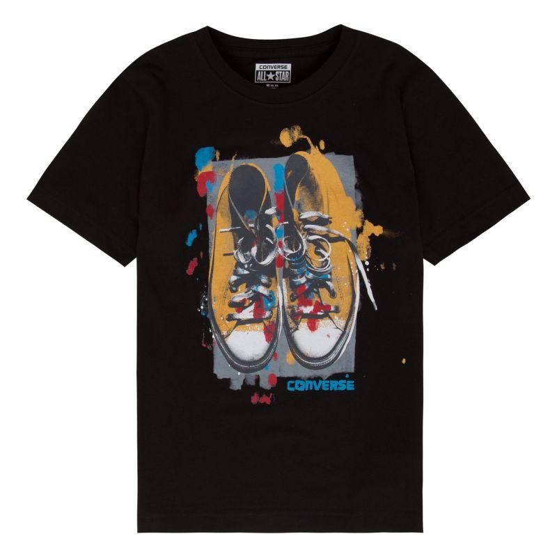 Boys 8-20 Converse Sneaker Tee, Boy's, Size: Large, Black