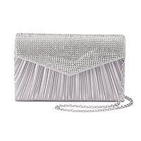 Gunne Sax by Jessica McClintock Lily Satin Pleated Clutch