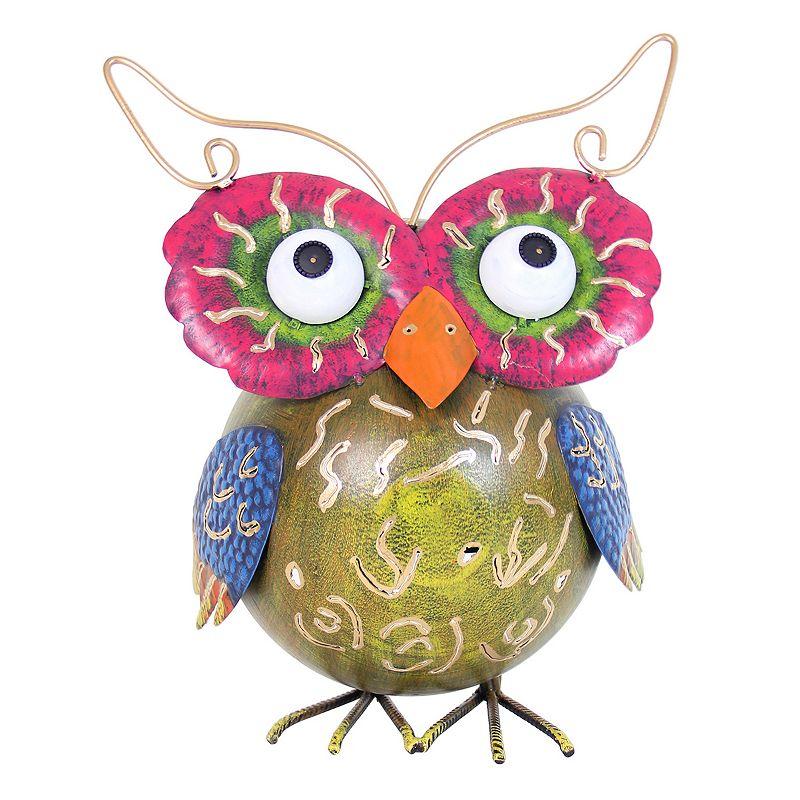 Exhart Krazy Klucker Owl Outdoor Decor