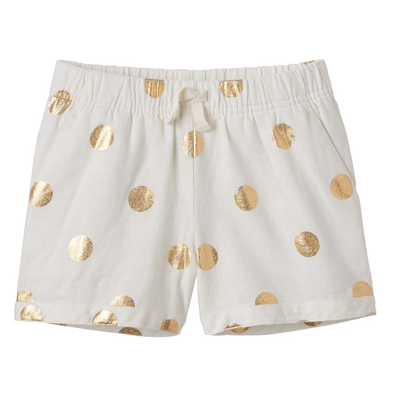 Girls 4-7 SONOMA Goods for Life™ Printed Woven Shorts