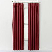 Ellis Curtains 2-pack Crosby Pinch-Pleat Curtains