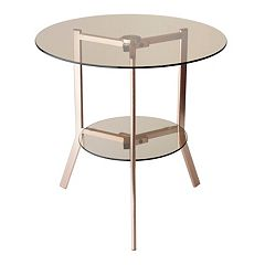 Adesso Gibson End Table by