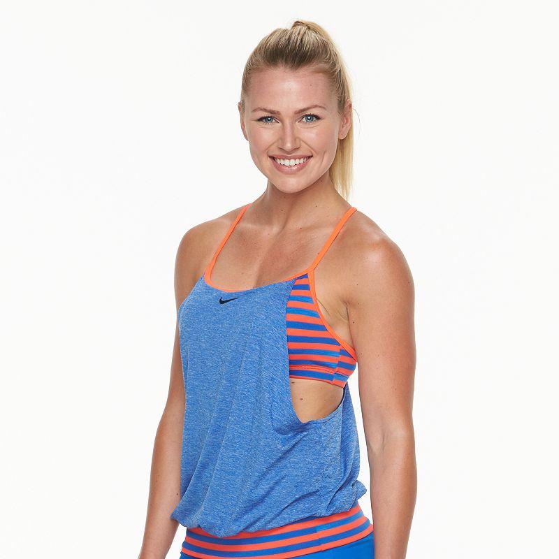Women's Nike Mock-Layer Tankini Top