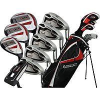 Men's Bullet .444 Left Hand Complete Golf Clubs & Stand Bag Set