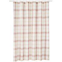 Lenox Holiday Nouveau Plaid Shower Curtain