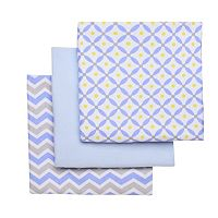 Boppy 3-pk. Print & Solid Receiving Blankets