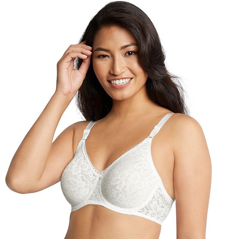 Bali Bra: Lace 'n Smooth Comfort-U Back Full-Figure Bra 3432