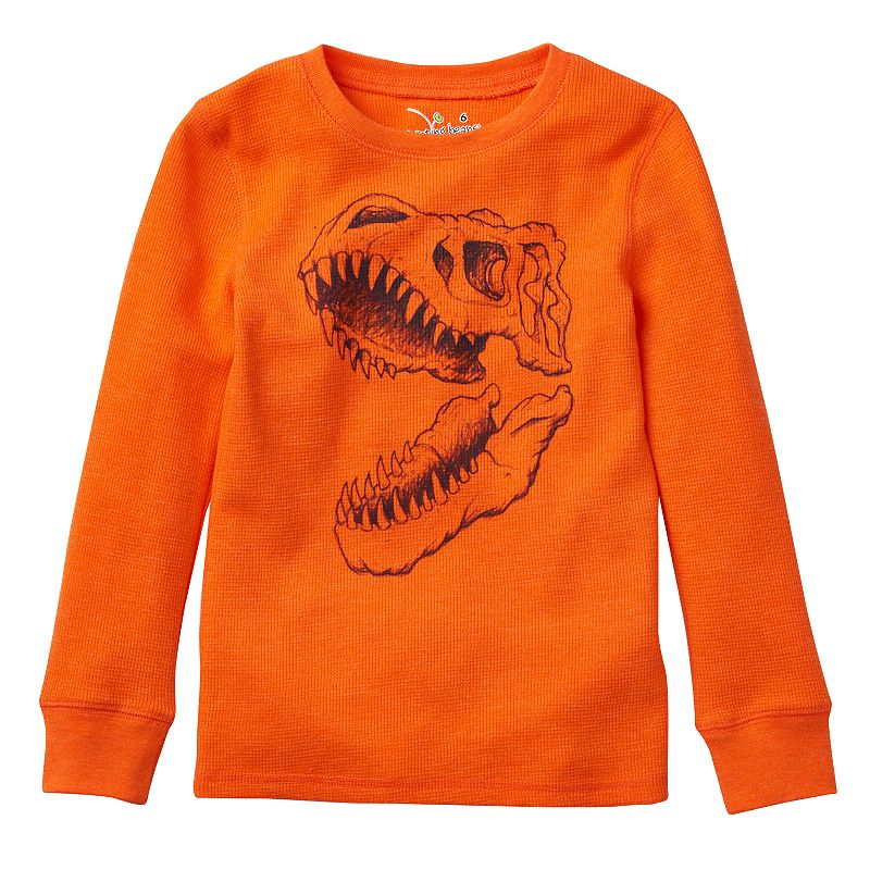 Boys 4-7x Jumping Beans® Long Sleeve Thermal Graphic Tee