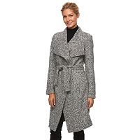 Women's Triple Star Marled Wrap Sweater Coat