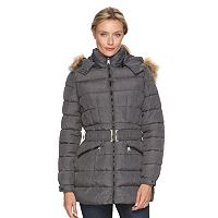 Women's Triple Star Hooded Puffer Coat