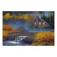 Reflective Art The Lodge Canvas Wall Art
