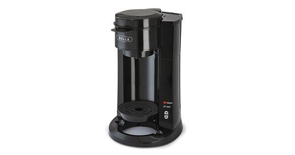 Bella Dual Brew Coffee Maker Kohl S : Bella Dual Brew Single-Serve Coffee Maker