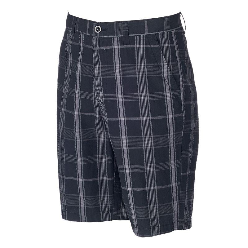 Men's Apt. 9® Modern-Fit Plaid Seersucker Shorts