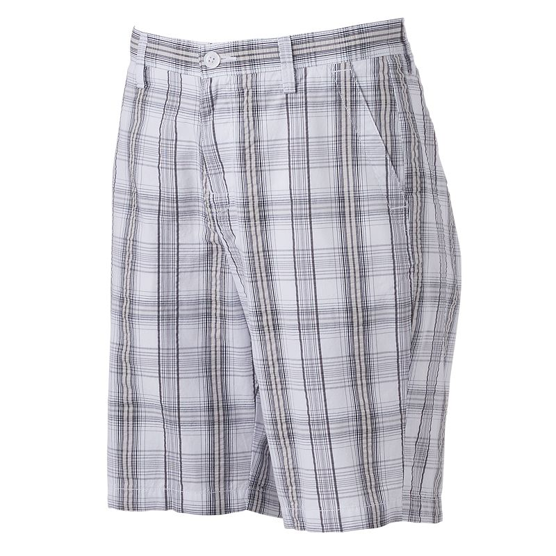 Men's Apt. 9® Modern-Fit Plaid Seersucker Shorts