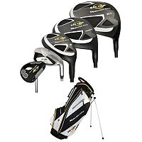 Men's Ray Cook Silver Ray Right Hand Complete Golf Clubs & Stand Bag Set