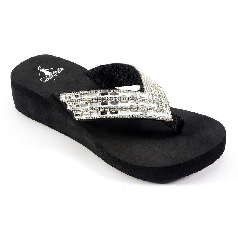 Corkys Zinger Women's Wedge Sandals