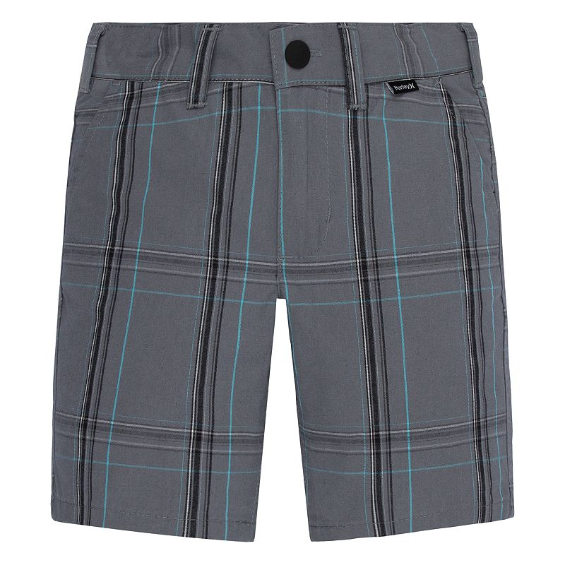 Boys 4-7 Hurley Plaid Shorts
