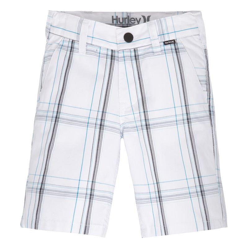 Boys 4-7 Hurley Plaid Shorts